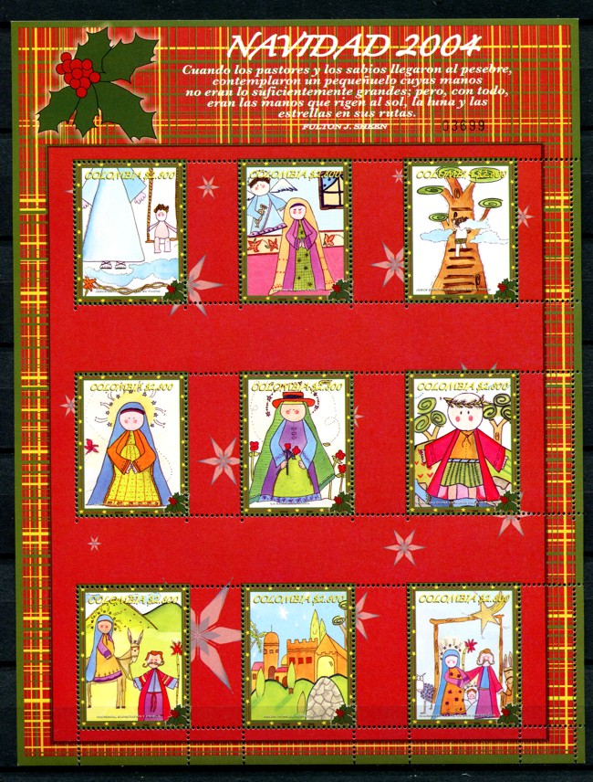 kolumbien colombia 2004 weihnachten kinderzeichnungen. Black Bedroom Furniture Sets. Home Design Ideas